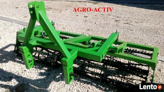 Agregat Uprawowy Zawieszany 2.1m 2 wały ROLEX AGRO-ACTIV