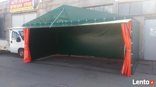 Namioty handlowe, ekspresowe, garaże