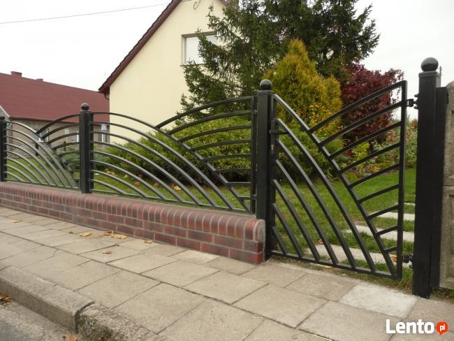 Płoty kute,ogrodzenia nowoczesne furtki, bramy, balustrady
