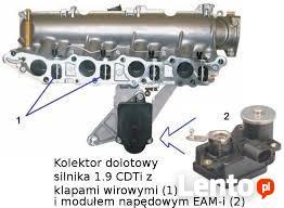 Usuwanie klap wirowych Opel Alfa SAB Bmw