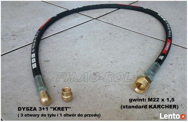 Wąż przewód do myjki STIHL, NILFISK 10 m gwint 1/2 + wtyk