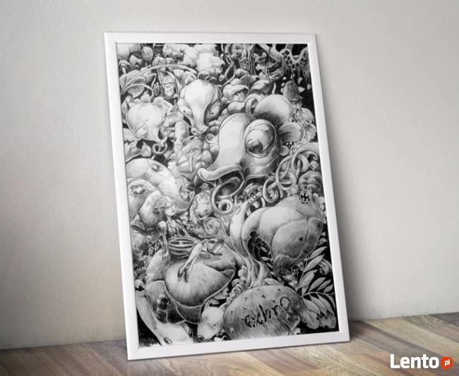 Grafik ilustrator, karykatury, ilustracje, ulotki, www, bane