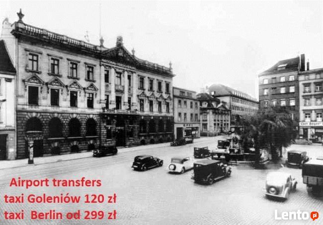 """Transfer """"door to door"""" Szczecin a lotnisko Goleniów"""