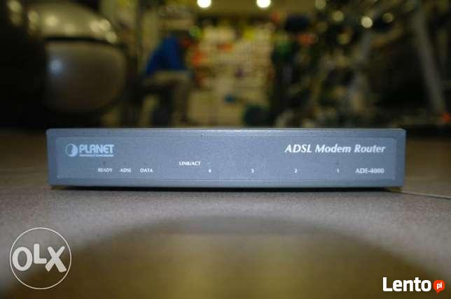 Modem Router ADSL 4 PORT- Planet networking & Comunication