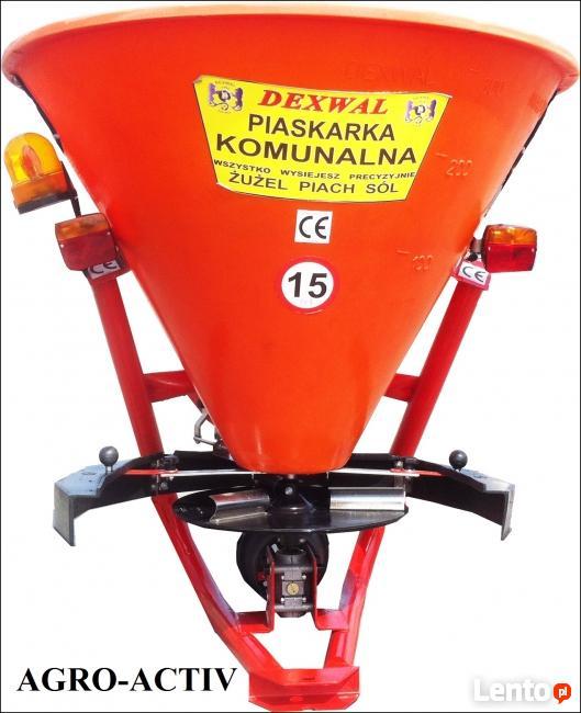 Piaskarka Komunalna Drogowa Mini 200 L Zawieszana DEXWAL AGR