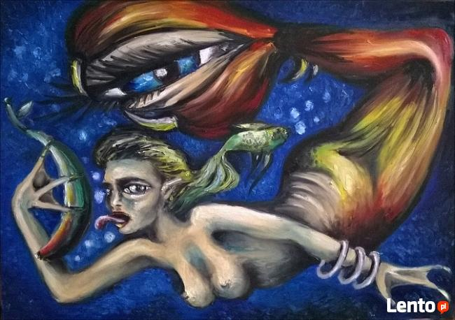 Sprzedam obrazy olejne - surrealizm