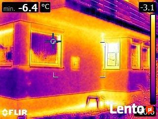 Badanie kamerą termowizyjną Rzeszów. Lokalizacja wycieku