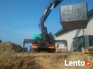 Zbiornik betonowy na szambo o pojemności 8m3 Transport