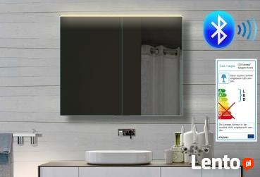 Lux-aqua lustro łazienkowe RADIO MP3 USB zegar SUPER PREZENT