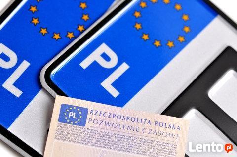 Rejestracja (przerejestrowanie) używanego pojazdu w 24h !