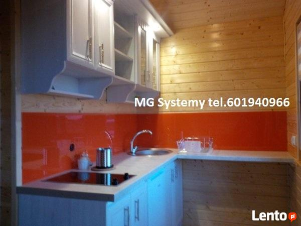 Ogromny Panele szklane do kuchni, lacobel, szkło lakierowane Słupsk Słupsk VG11