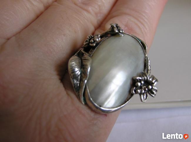 Srebrne stare pierścionki WARMET, LATA 60, 70