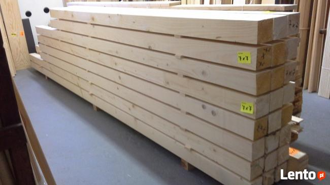 Kantówki heblowane 10x10cm, LEGARY 10x10 heblowane-SOSNOWEC