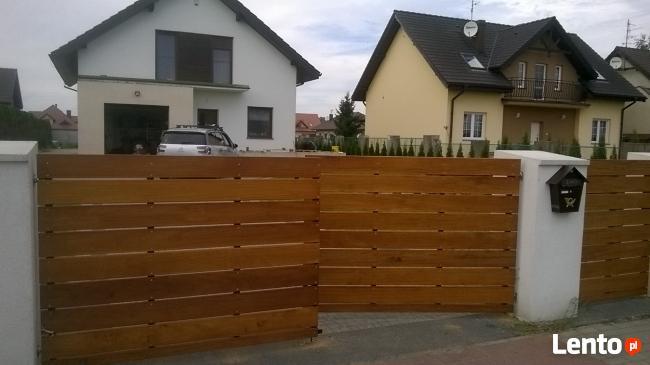 Wspaniały Ogrodzenia i Bramy z Drewna Poznań Poznań LO66