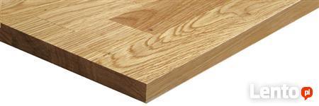 Blat kuchenny drewniany dąb lity avangard 30x620x3020mm