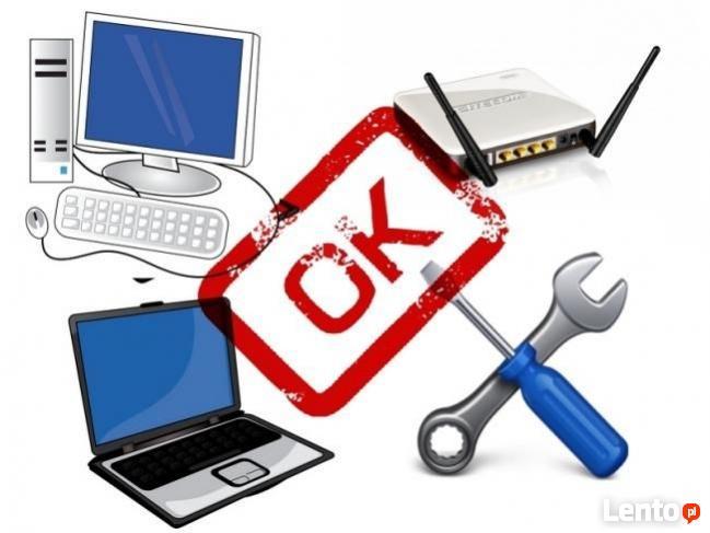 Naprawa / Naprawy komputera, laptopa i systemów Windows