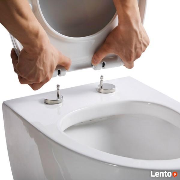 EAGO Luksusowa Misa WC wisząca z deską wolnoopadającą RABAT!
