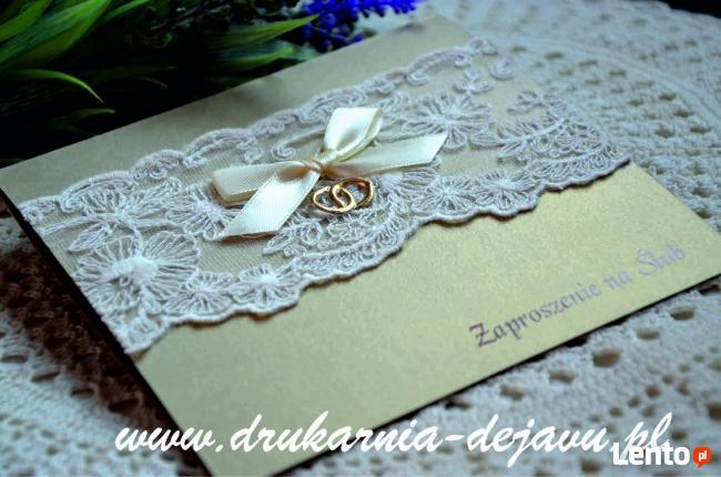 zaproszenia ślubne płock