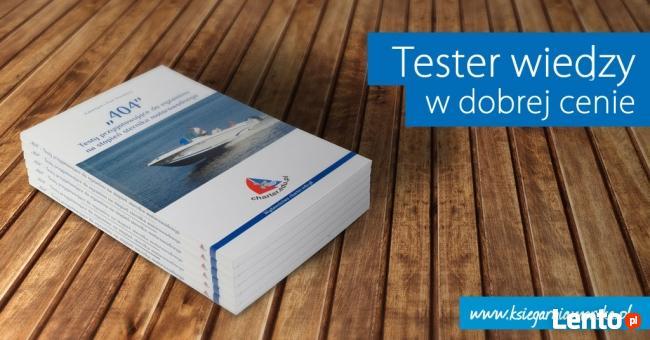 404 - Testy przygotowujące do egzaminu na stopień sternika