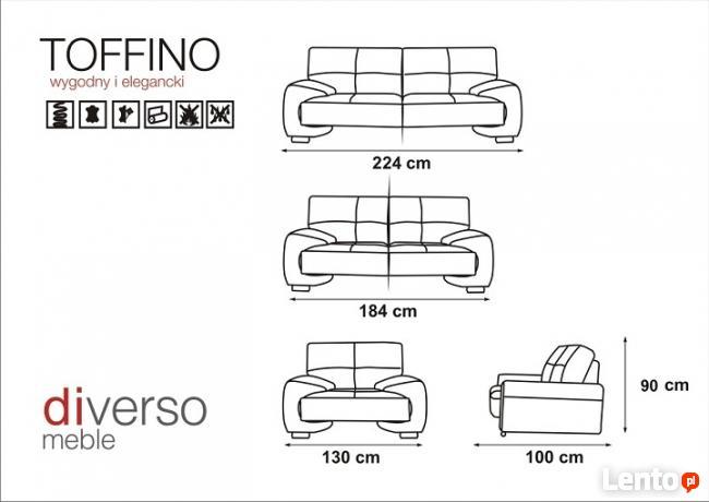 Zestaw TOFFINO 2+1+1! od Producenta!
