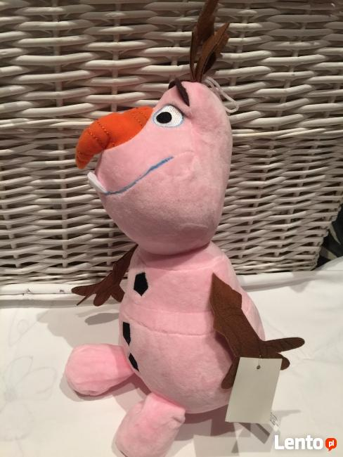 Bałwanek OLAF 50cm. 3 kolory Frozen Śpiewa Po Polsku