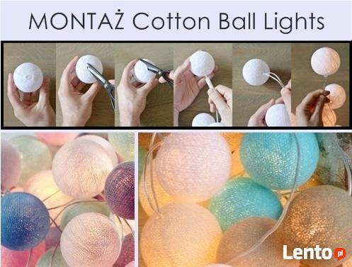 HIT! Kule Cotton Ball Lights - stwórz własny zestaw!