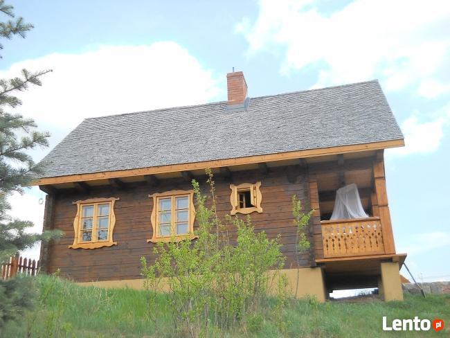 Drewniane elewacje i dachy z wióra osikowego, gont, wiór