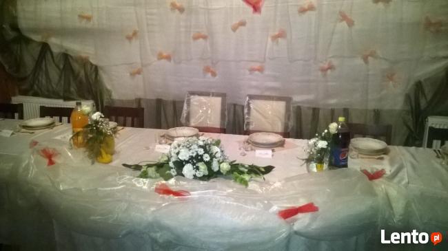 Organizacja wesel,komuni,chrzcin