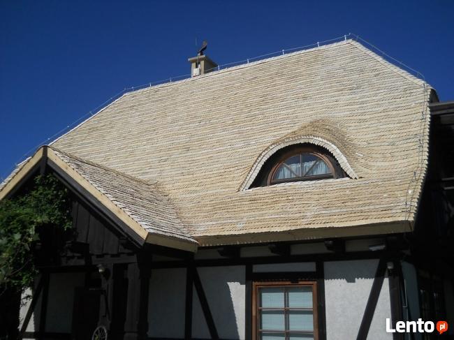 Impregnowane dachy z wióra osikowego, gont osikowy, wiór