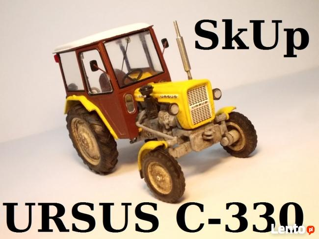 Ciągniki rolnicze - SKUP ZA GOTÓWKĘ - traktory URSUS C330