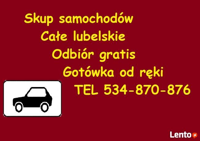 Stare samochody - stare auta skupujemy za GOTÓWKĘ! Lublin