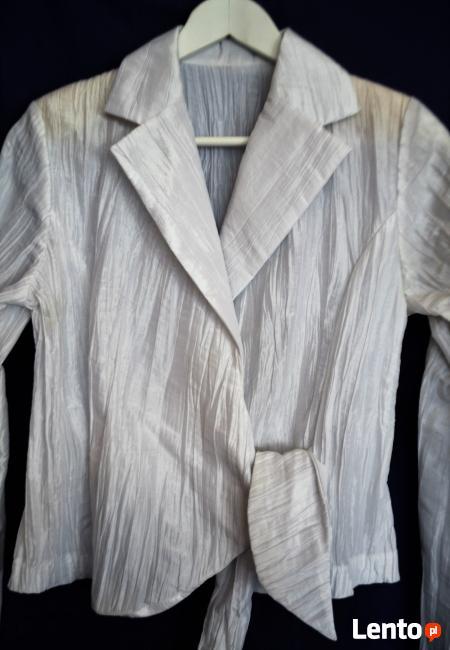 Elegancka biała bluzka  38