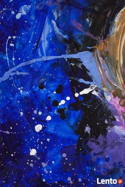 Akryl na płótnie,obraz POLE MOŻLIWOŚCI artystki A. Laube