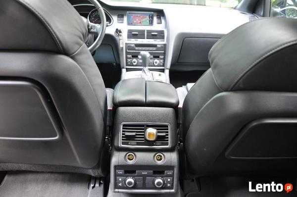 Przewóz osób Audi Q7 z kierowcą. Transfery Vip TAXI.