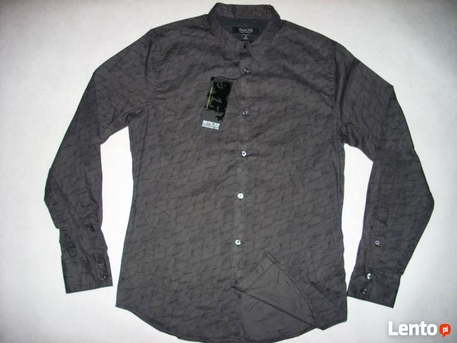 5a49d65b9bfc1 NEW YORKER koszula męska Grafit Wzór NOWA M Nowy Sącz