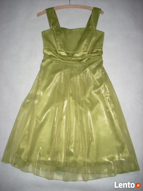 Elizabeth NOWA Sukienka Wizytowa na Wesele cudo 36 S
