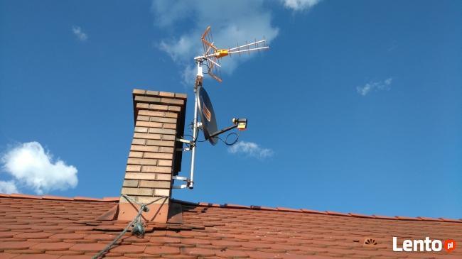 Anteny montaż,naprawa