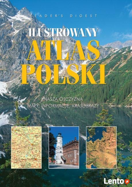 Książka nowa ATLAS POLSKI
