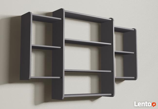 Półki wiszące Detalion na ścianę książki cd półka wisząca
