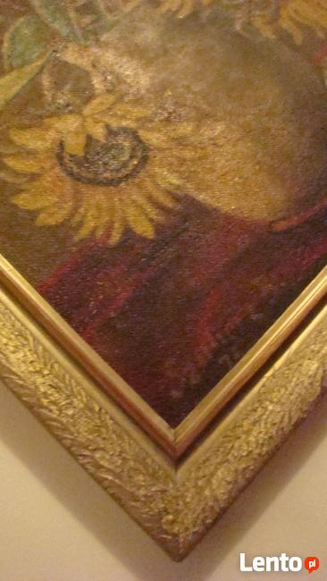 Obraz olejny Słoneczniki