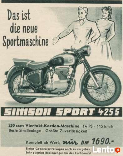 Podręcznik napraw Awo 425 Sport Simson Turist Avo