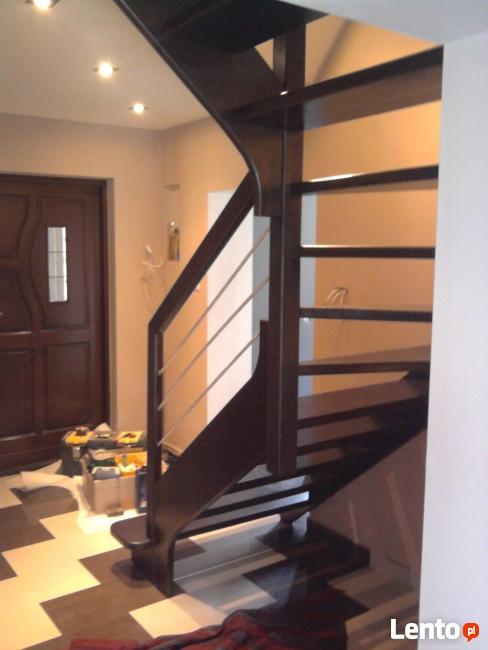 schody drewniane kelce