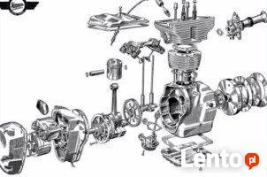 Katalog części Awo 425 Sport Simson Avo i wózek boczny Stoye