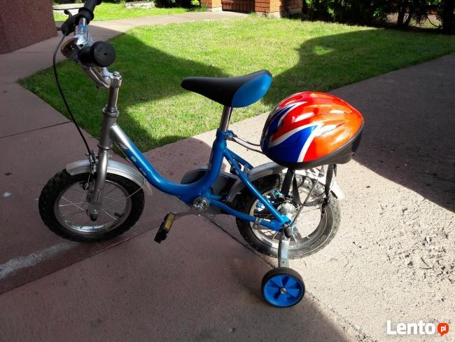 Rower dziecięcy + kask, bardzo dobry stan, prawie nieużywany