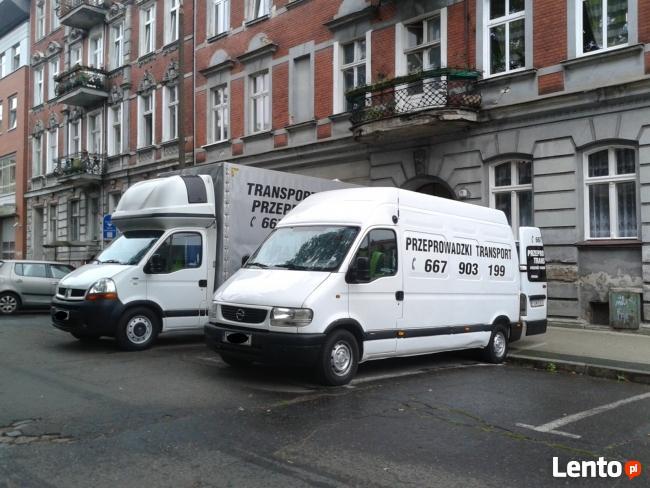 TRANSPORT PRZEPROWADZKI USŁUGI TRANSPORTOWE KRAJ EUROPA