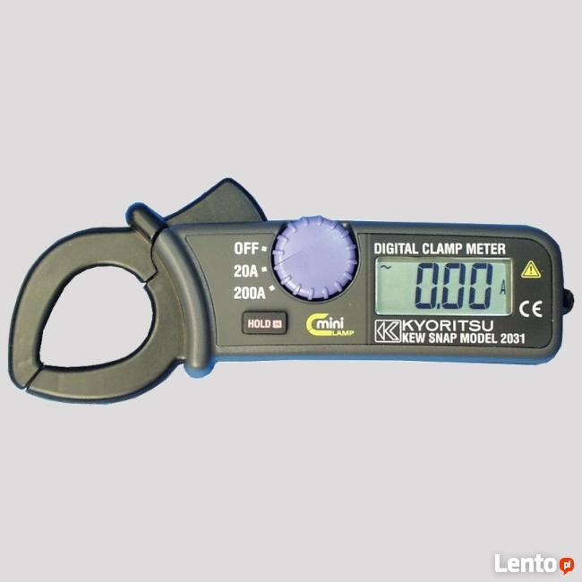 Miernik cęgowy 0,01-200A AC Kyoritsu KEW2031
