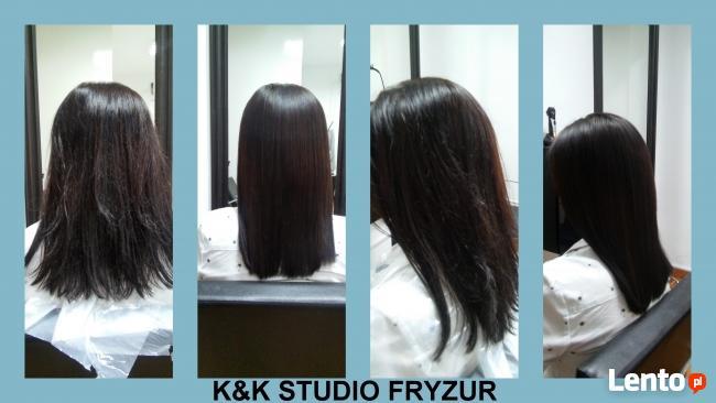 Prostowanie keratynowe INOAR K&K STUDIO FRYZUR