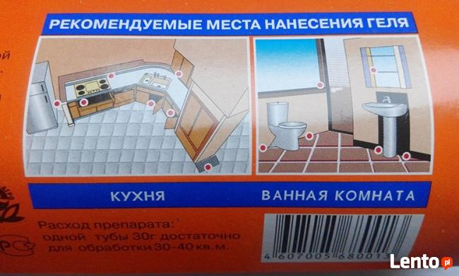 Rosyjski żel na karaluchy - najskuteczniejszy !!!