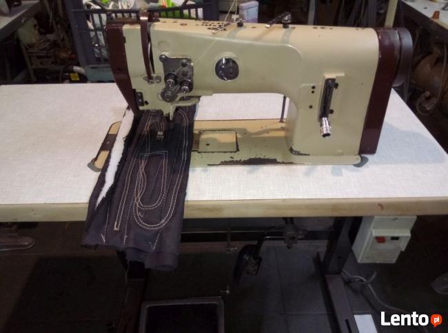 Maszyna do szycia Dwuigłówka PFAFF 1246 do tapicerki