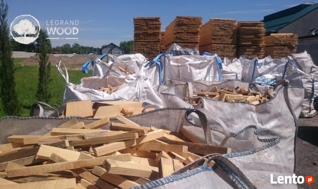 Drewno opałowe świerk do rozpałki worki hurt